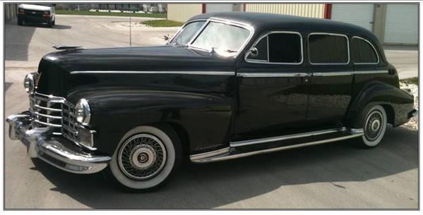 Dean Moriarty 1947 Cadillac